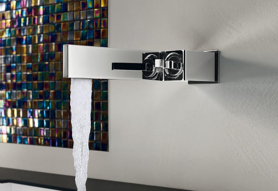 Tetris built-in basin mixer wall