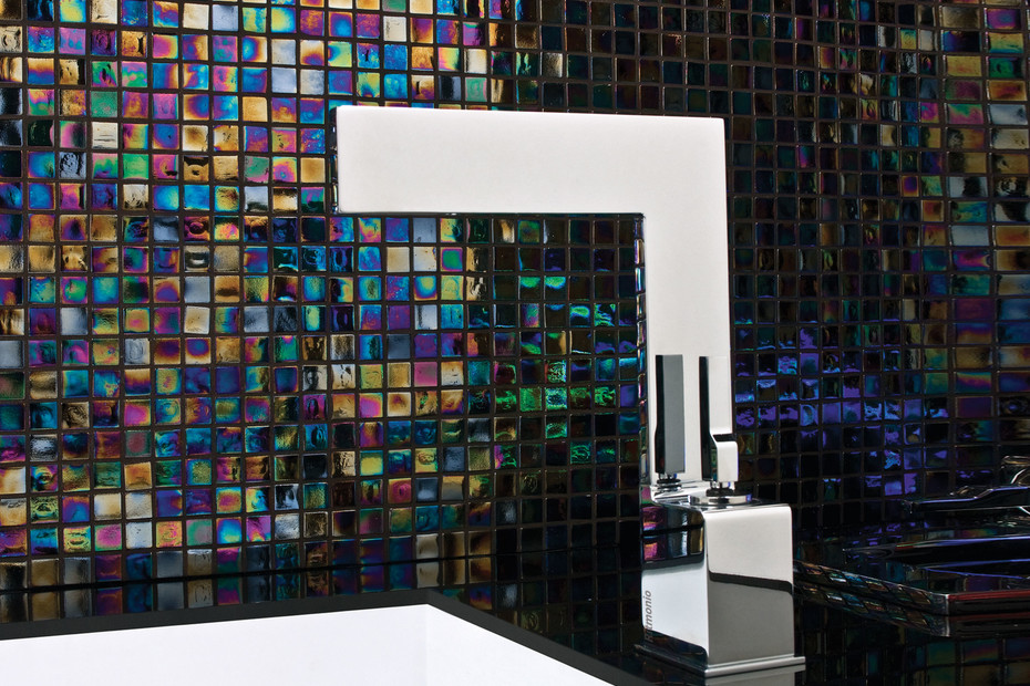 Tetris built-in basin mixer