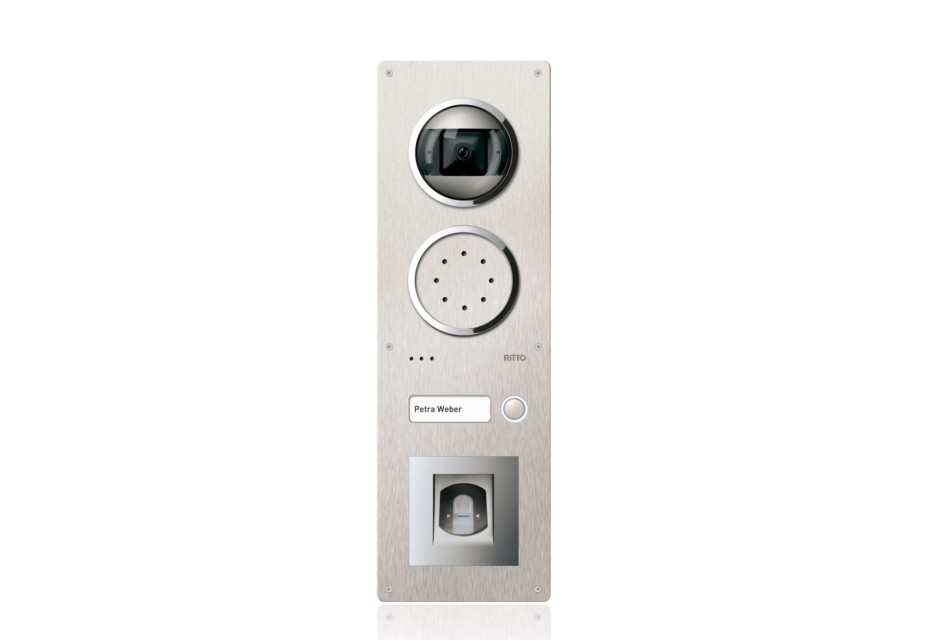 Acero Video Türstation mit Fingerabdruck Sensor