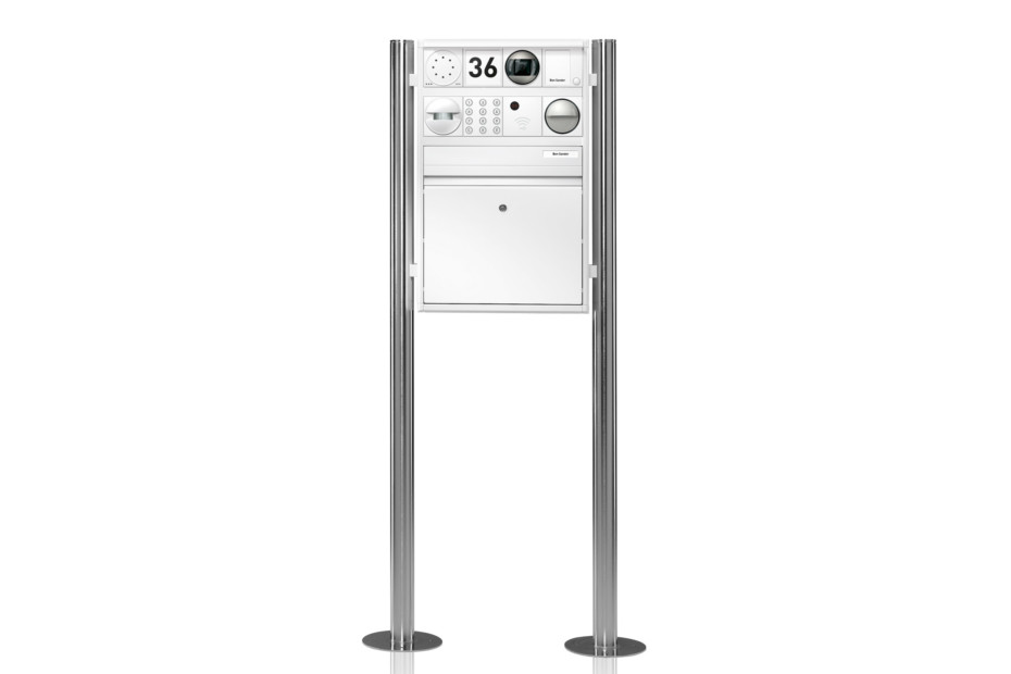 Portier free-standing letterbox system, 1 compartment