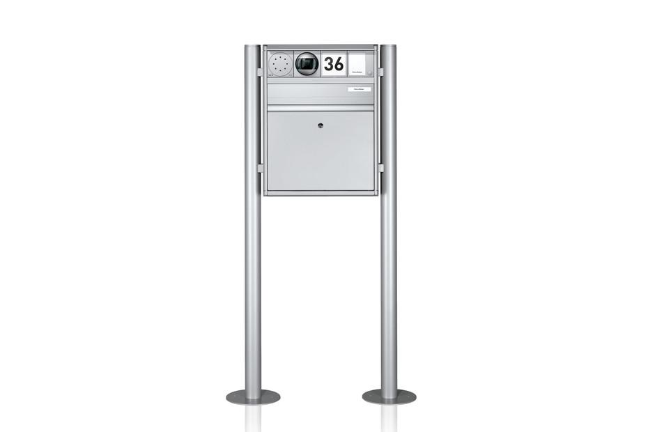 Portier Briefkastensystem freistehend, 1fach