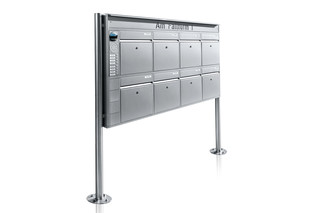Portier free-standing letterbox system, 8 compartments  by  Ritto