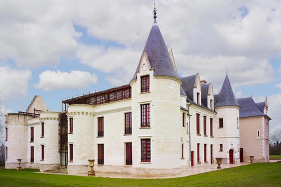 Decorative sun screens, Château de Cangé in Saint Avertin