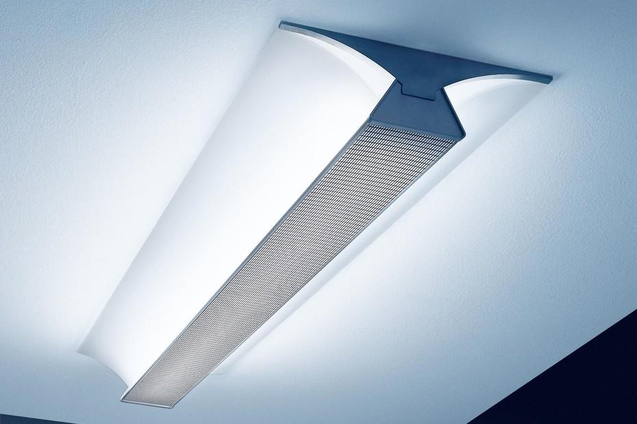 Perforated lighting in buildings