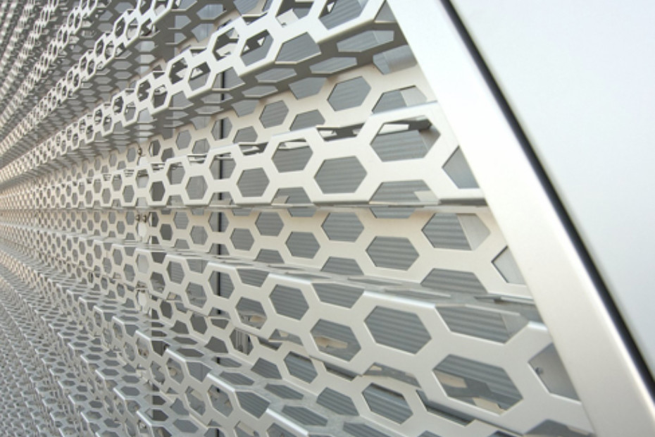 Perforated cladding, Audi Bitterfeld