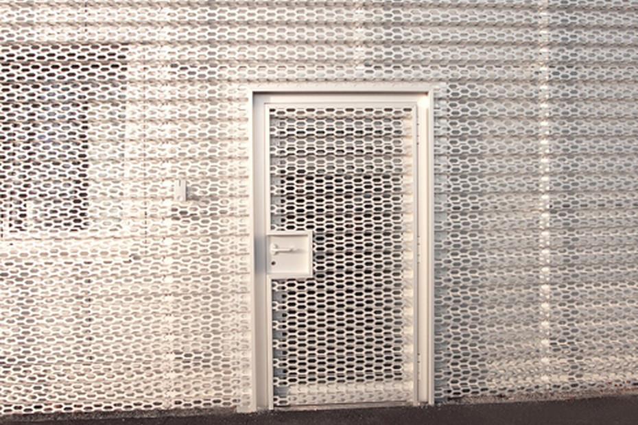 Perforated cladding, Audi Bitterfeld