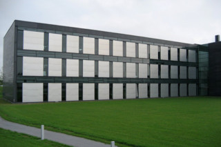 Perforated cladding, Kommunedata Administration  by  RMIG