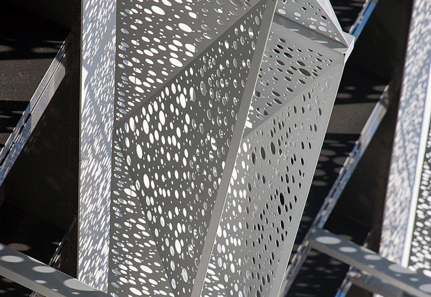 Perforated Cladding Lyc 233 E Polyvalent Saint Romain By