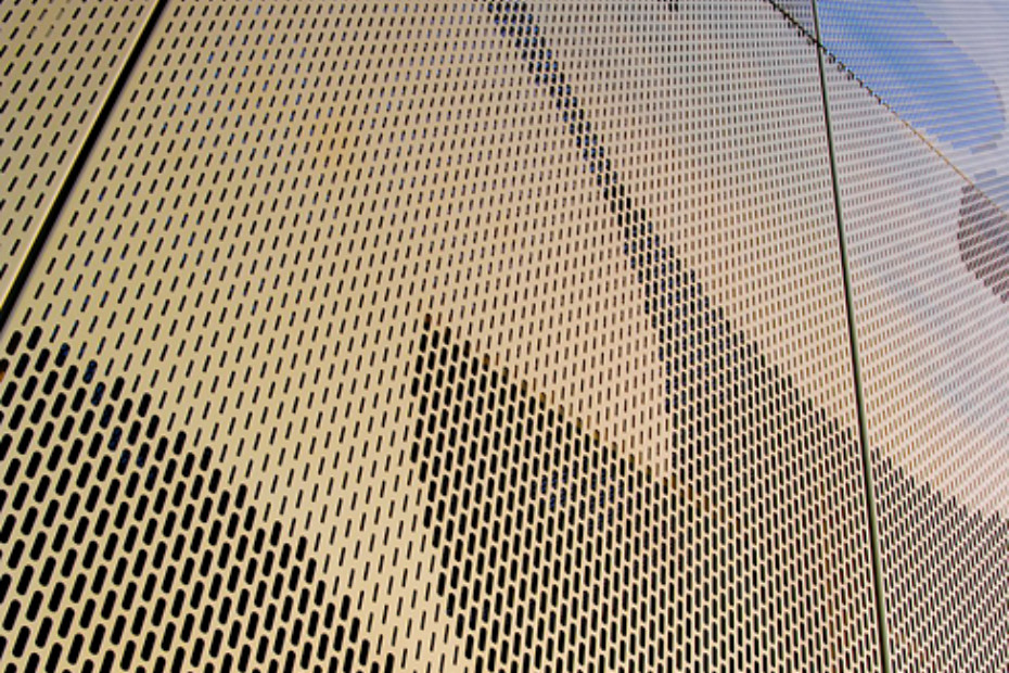 Perforated Aluminium Panels Maison Du Portugal By Rmig