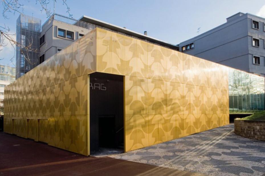 Perforated aluminium panels, Maison du Portugal