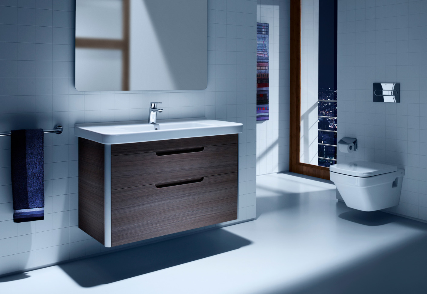 Dama Wash Basin With Vanity Unit By Roca Stylepark