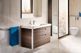 Dama wash basin with vanity unit  by  Roca