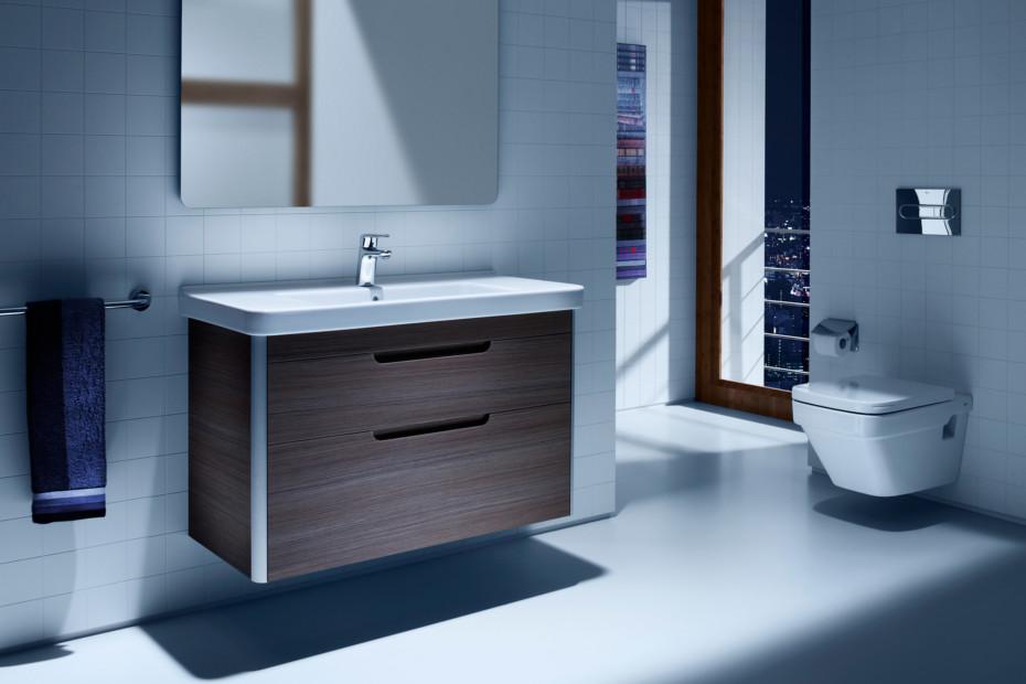 Dama wash basin with vanity unit