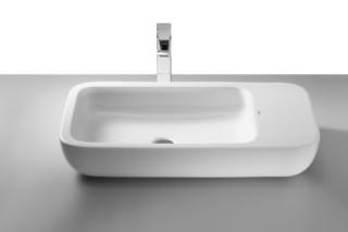 Khroma washbasin with tray  by  Roca