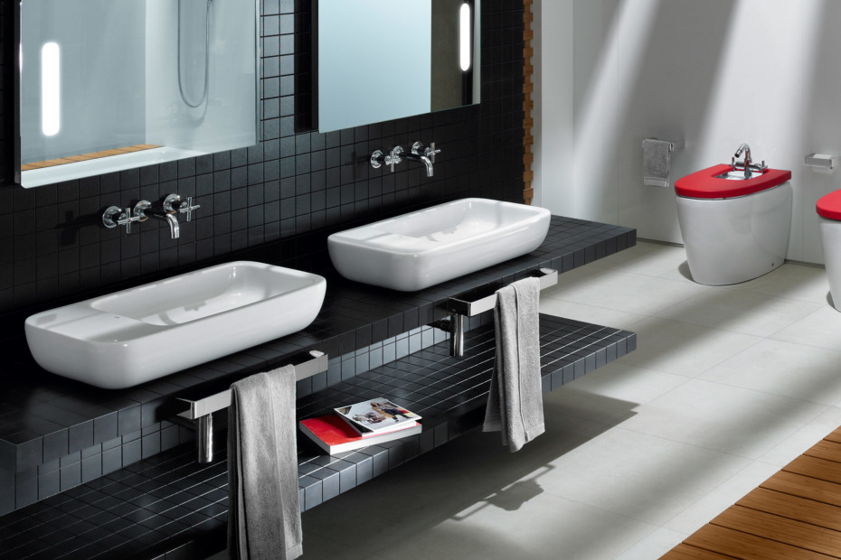 Khroma washbasin with tray