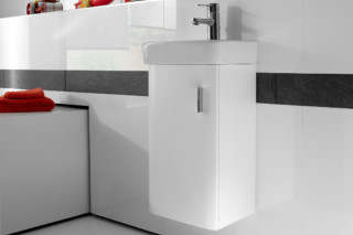 Senso Square hand rinse basin with vanity unit  by  Roca