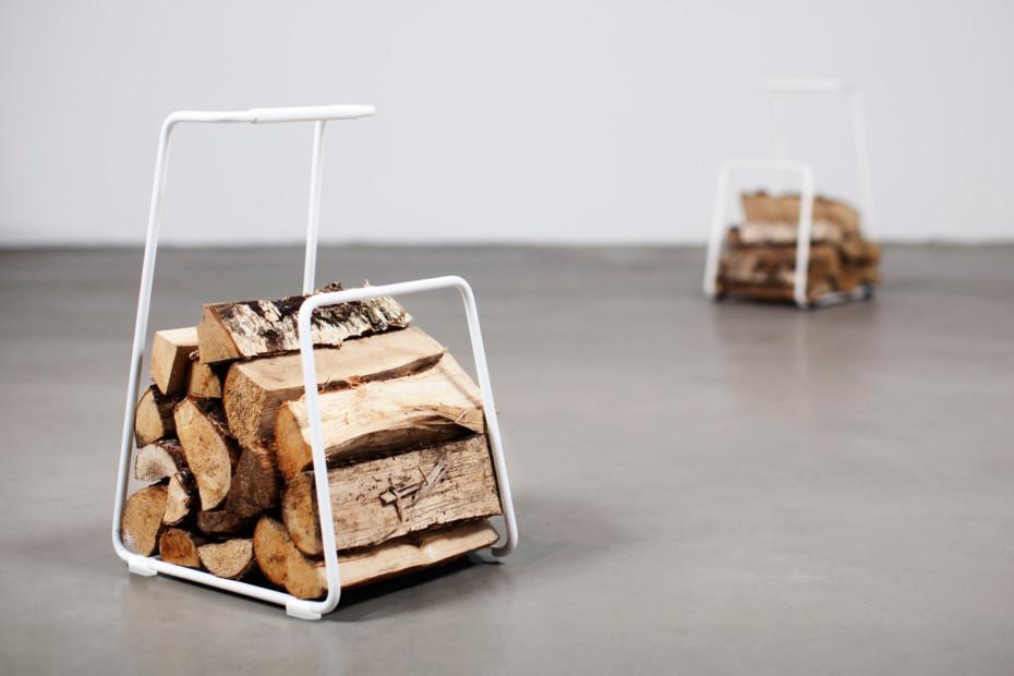 Log Holzkorb