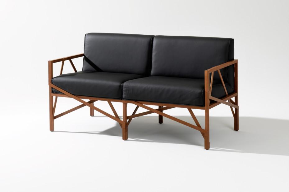 Allumette sofa 2-Sitzer