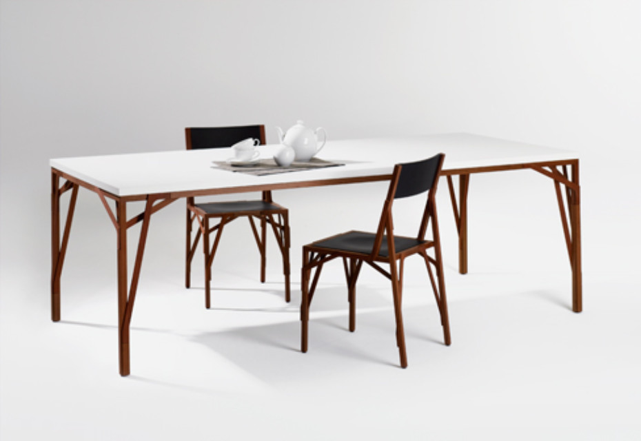 Allumette table rectangular