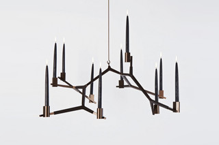Agnes Hanging Candelabra 10 Candles  von  Roll & Hill