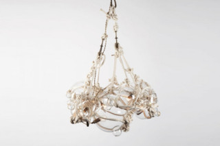 Knotty Bubbles Chandelier 1 Large, 6 Small Bubbles  by  Roll & Hill
