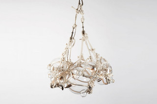Knotty Bubbles Chandelier 1 Large, 6 Small Bubbles  von  Roll & Hill