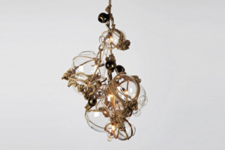 Knotty Bubbles Chandelier  by  Roll & Hill