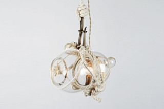 Knotty Bubbles Pendant Small  by  Roll & Hill