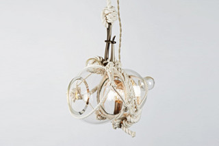 Knotty Bubbles Pendant Small  von  Roll & Hill