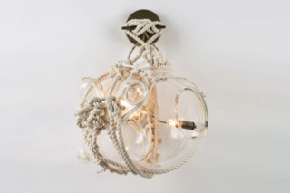 Knotty Bubbles Sconce  by  Roll & Hill