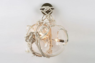 Knotty Bubbles Sconce  von  Roll & Hill