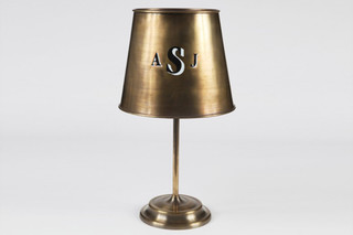 Monogram Table Lamp  von  Roll & Hill