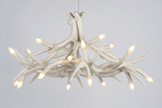 Superordinate Antler Chandelier 12 Antlers  von  Roll & Hill