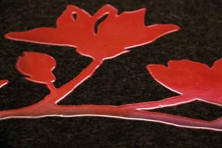 Red Flower  von  Ruckstuhl