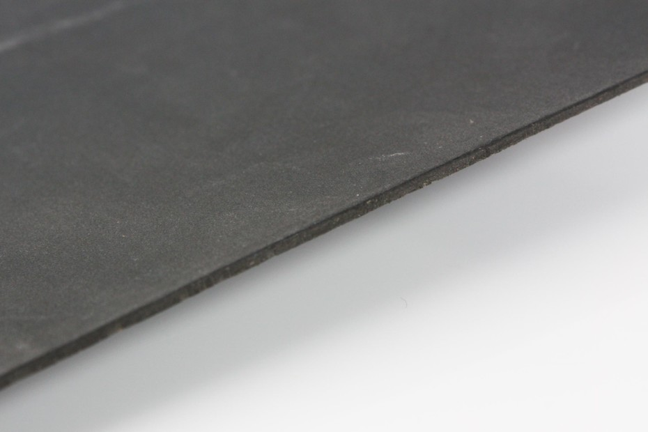 Bonded Leather - Salpa soft black Nubuk