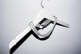 Double Crystal Halskette  von  Saskia Diez