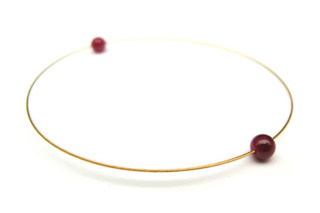 Gold Ruby Bracelet  by  Saskia Diez