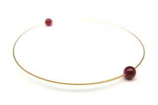 Gold Ruby Bracelet  von  Saskia Diez