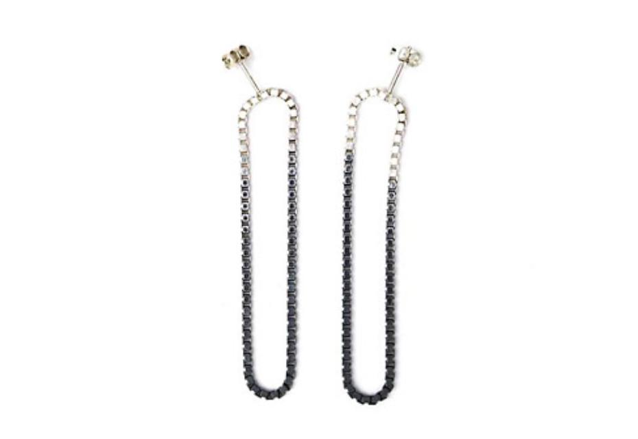 Long Fade Loop earrings