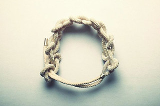 Rope Bracelet No 4  by  Saskia Diez