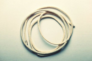 Rope neckless No 1  by  Saskia Diez