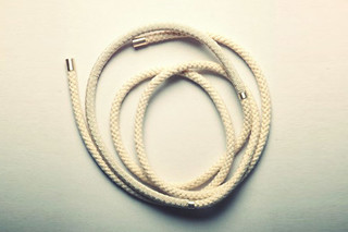 Rope neckless No 2  by  Saskia Diez