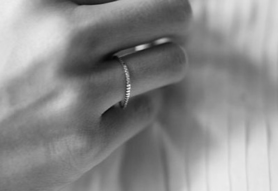 Silver Fine Cubic ring