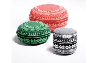 Frank, Ernest and Henry pouffes  by  SCP