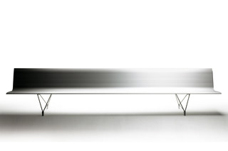 Aero bench with backrest  by  Sellex