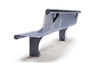 Vacante outdoor bench  by  Sellex