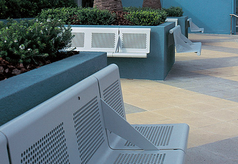 Vacante Outdoor Bench By Sellex Stylepark