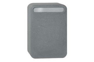 Concrete Letter Box  by  Serafini