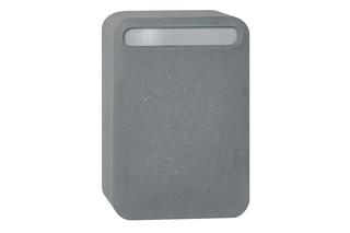 Concrete Letter Box  by  Serafini