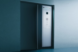 Steel Letterbox door panel  by  Siedle